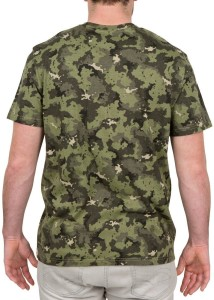 7d223f22bf834 SOLOGNAC by Decathlon Printed Men Round Neck Green T Shirt Best ...