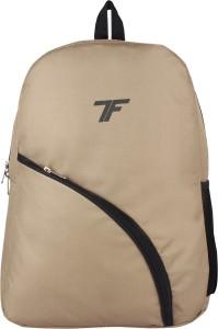 Fashion Track School Backpack FT 013 Beige Waterproof Backpack
