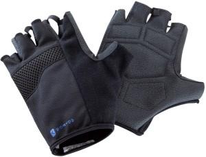 DOMYOS Weight Training Gym & Fitness Gloves (XXXL, Black)