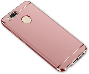 size 40 34c47 8881a SPL Back Cover for Xiaomi Mi A1Rose Gold, Shock Proof, Plastic