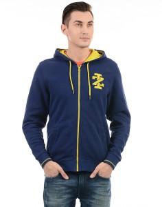 Izod Full Sleeve Solid Men Sweatshirt