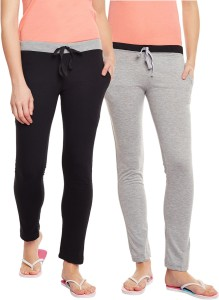 Trendygal Solid Women's Multicolor Track Pants