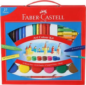 Faber-Castell Art Colour Kit With Free Paint Brush