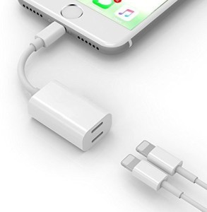 Microware Y Cable Double Lightning Jacks Lightning Cable