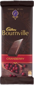 Cadbury Bournville Cranberry Dark Chocolate Bars