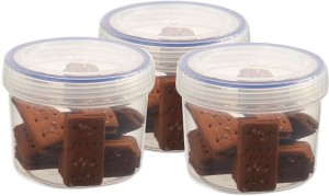 Bel Casa Lock and Store Spin  - 300 ml Plastic Grocery Container