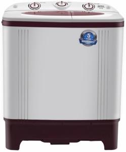 Intex 6.2 kg Semi Automatic Top Load Washing Machine Maroon, White