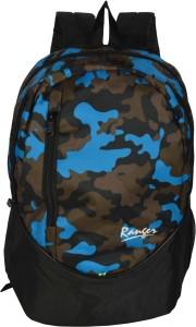 Ranger Black Blue Jungle Military School bag, Laptop bag, Casual bag, College bag Waterproof Backpack
