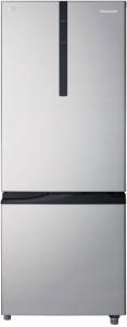 Panasonic 296 L Frost Free Double Door 2 Star (2019) Refrigerator(Shining Silver, NR-BR307RSX1)