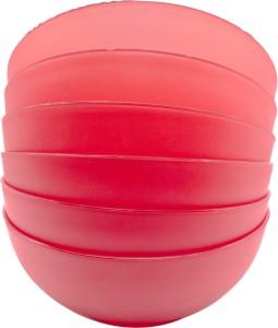 SARANGWARE Microwave Safe Soup Bowl 6 Pcs Set (Color May be Very) Plastic Disposable Bowl Set