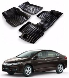 Auto Garh Plastic 5d Mat For Honda City Black Best Price In India
