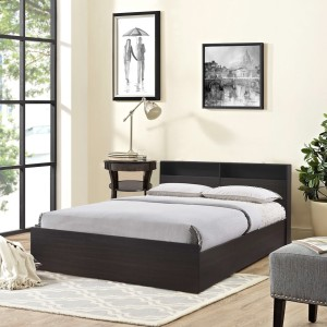 HomeTown Alex Engineered Wood Queen Bed With Storage