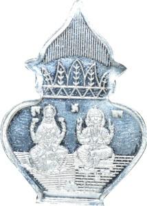 Kataria Jewellers Lakshmi Ganesh S 999 5 g Silver Coin