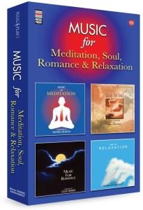 Music Card :Music for Meditation, Relaxation, Romance and Soul ( 320 kbps MP3 Audio) Pendrive Standard Edition