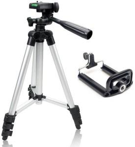 ReTrack 3110 3Way Head Adjustable Aluminum 35cm To 102cm Extendable Camera-Tripod With Bracket And Bag Tripod