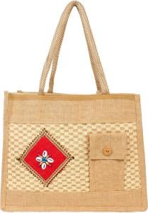 styles creation Jute Net Fabric Lunch Bag HNDBG58 Lunch Bag
