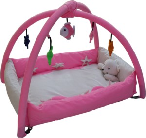 7afdb0e9e Amardeep Playgym Cum Playpen Pink Pink Best Price in India ...