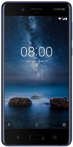 Nokia 8 (Tempered Blue, 64 GB)