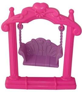 Generic Lovely Barbie Doll House Furniture Garden Plastic Double