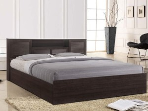 HomeTown Bolton Hydraulic Engineered Wood King Bed With Storage