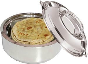Kuber Industries Casserole/HotPot,chapati box/chapati container/hot case in Stainless Steel 3500 ML (Cass37) Casserole