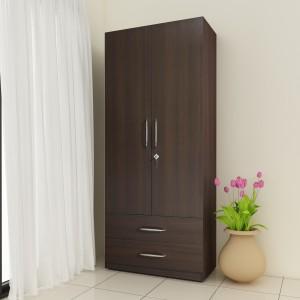 Crystal Furnitech Aspire Engineered Wood 2 Door Wardrobe