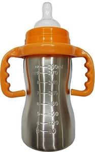 a1f05a02562 N M 290 ML Stainless Steel Baby Feeding Bottle - Orange - 290 ml ( Orange )
