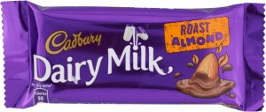 Cadbury Dairy Milk Roast Almond Chocolate Bars
