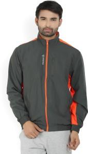 3a95db803 Reebok Full Sleeve Solid Men s Jacket