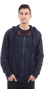 Nautica Full Sleeve Solid Men Sweatshirt