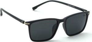 07fbe6760fd5 FIZAN Wayfarer Sunglasses ( Black )