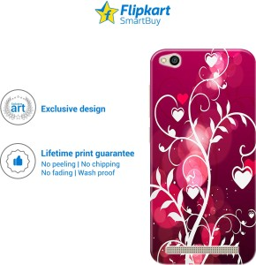 low priced 2ee84 7318b Flipkart SmartBuy Back Cover for Mi Redmi 5AMulticolor, Plastic