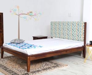 Home Edge Bellance Solid Wood Queen Bed