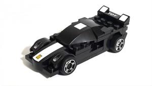 Montez Racing Pacemaker 2215 52pcs DIY Block Construction Pull Back Car