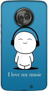 Casotec Back Cover for Motorola Moto X4