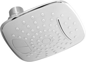 Kitsch MARS White C.P. Dual Button Square Shower Head Shower Head
