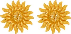 PC Chandra Jewellers Yellow Gold 22kt Drop Earring