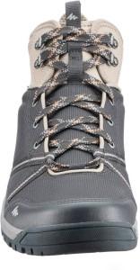 4ec3c1f7d3f8 Quechua by Decathlon NH100 Hiking Trekking Shoes For Men Black Best ...