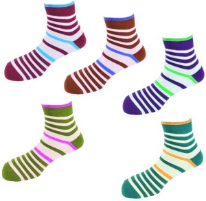Worldlookenterprises Men & Women Striped Ankle Length