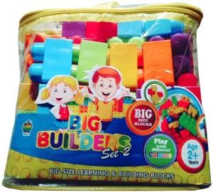 SHRIBOSSJI BIG BUILDING BLOCKS WITH MULTICOLOUR FOR KIDS
