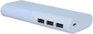 OMNITEX 10400 mAh Power Bank (SIDE LIGHT, Fast Charging Good Power back up)
