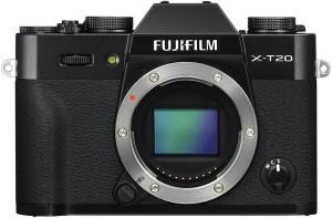 Fujifilm X-T20 Black Mirrorless Camera Body Only