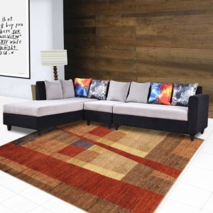 Furny Cassidy Left Align Fabric 6 Seater