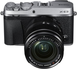 Fujifilm X-E3 Silver with XF 18-55 mm Lens Mirrorless Camera Kit