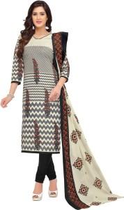 Reya Cotton Printed Salwar Suit Dupatta Material Un stitched