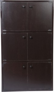 a39c20ae5 HOMEFULL Engineered Wood Free Standing Cabinet Finish Color WENGE ...