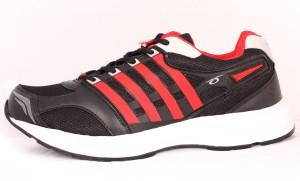 f9b1e88877a56 Prozone Prozone P-233-BlackRed Men s Sports Shoes Cricket Shoes For MenBlack