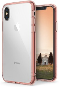 Ringke Back Cover for Apple iPhone X [FUSION] Transparent TPU Bumper [Drop Protection] Case