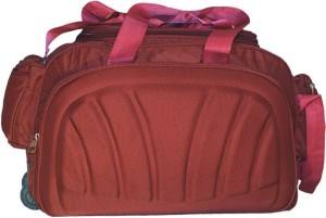 Inte Enterprises maroon (Expandable) Travel Duffel Bag ( Maroon ) 00be0273817e9