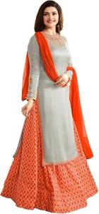 Opera Villa Crepe Printed Salwar Suit Dupatta Material